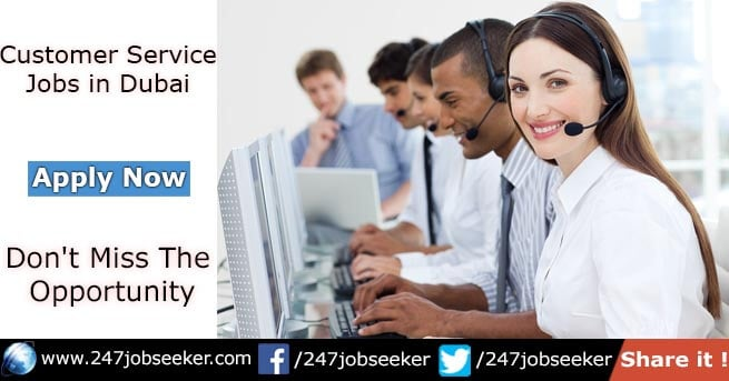 Customer Service Jobs in Dubai