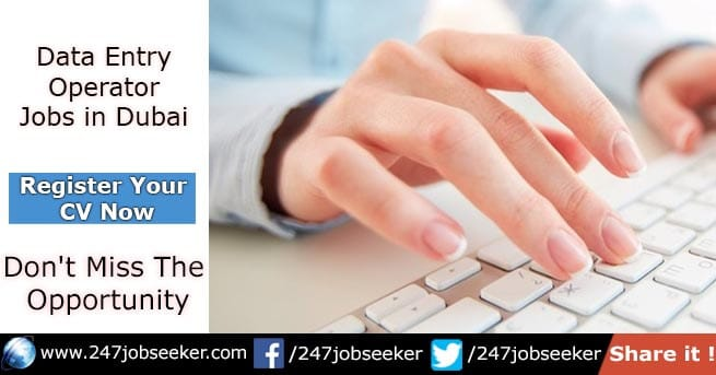 Data Entry Jobs in Dubai