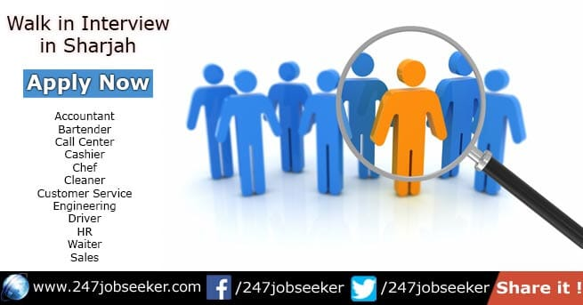 Walk in Interview in Sharjah
